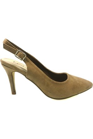 LES PETITES BOMBES Zapatos de tacón LPB escarpin CORA taupe S20CORA para mujer