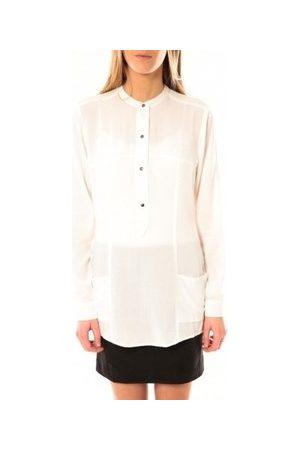 Vero Moda Blusa Alec L/S Tunic W/Out Top Pockets 10097849 Blanc para mujer