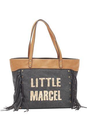 Little Marcel Bolsa Sac Shopping Victoire Noir VI 01 para mujer