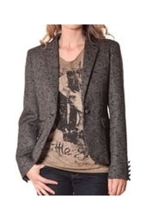 Rich & Royal Chaqueta de traje Blazer OVER Chiné Noir 13q801/999 para mujer