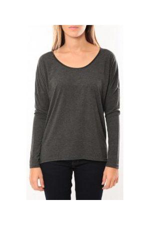 Vero Moda Camiseta manga larga Kisha ls Top 10099844 Anthracite para mujer