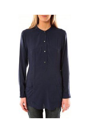 Vero Moda Blusa Alec L/S Tunic W/Out Top Pockets 10097849 Bleu para mujer