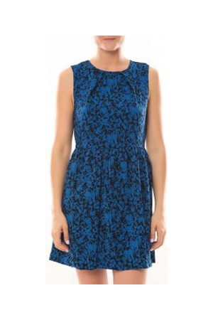 Vero Moda Vestido Robe Noel SL Mini Dress Mix Wall 10087646 Bleu para mujer