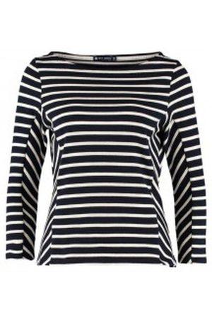 Petit Bateau Camiseta manga larga Marinière M7/8 1130549210 Bleu para mujer