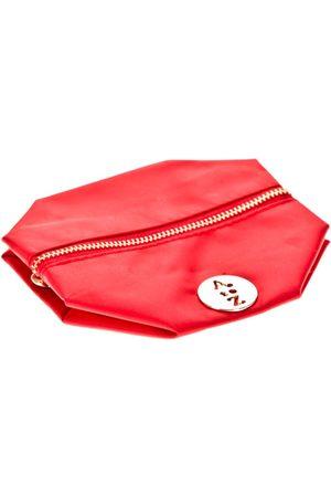 Very Bag Street Bolso Pochette besace bouton doré Rouge para mujer