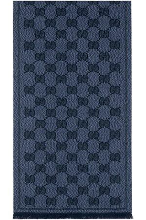 Gucci Hombre Bufandas y Pañuelos - Bufanda de jacquard de lana con GG