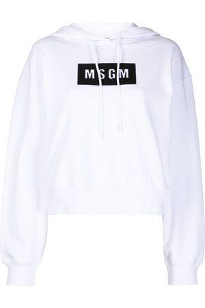 Msgm Sudadera con capucha y logo