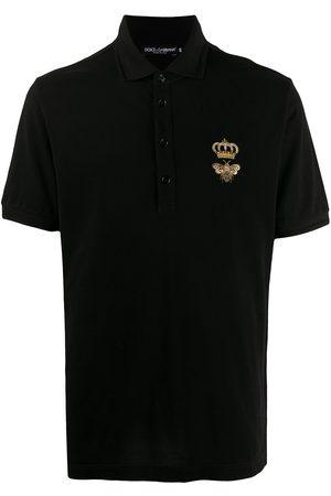 Dolce & Gabbana Polo con logo bordado