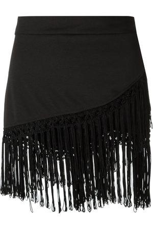 AMIR SLAMA Mujer Faldas - Fringed skirt