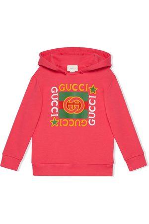 Gucci Sudadera con capucha y logo