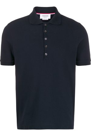 Thom Browne Polo con 4 rayas