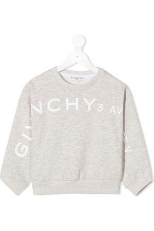 Givenchy Logo print crewneck sweatshirt