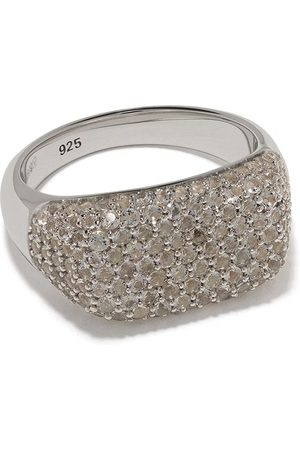 TOM WOOD Anillo Michael con cristal