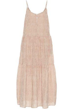 Velvet Vestido largo Steffi de algodón