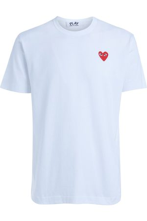 Comme des Garçons Camiseta Camiseta cuello redondo blanca para mujer