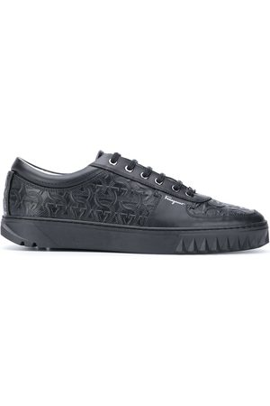 Salvatore Ferragamo Gancini-embossed sneakers