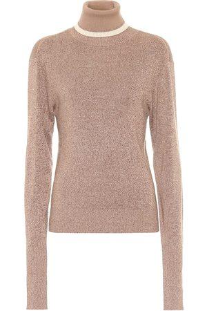 Chloé Jersey de lana y seda cuello alto