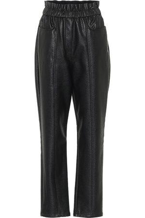 Serafini Pantalones de piel sintética