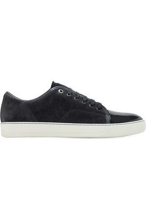 Lanvin Hombre Zapatillas deportivas - | Hombre Sneakers De Ante Con Puntera Brillante 5