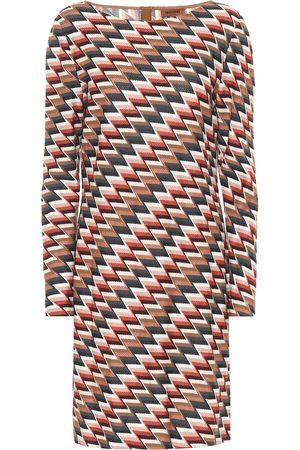 Missoni Vestido de punto en zigzag