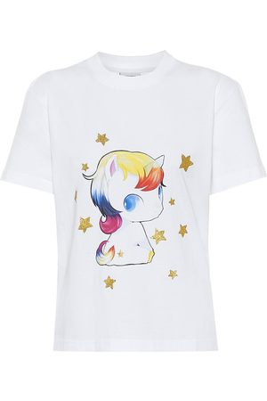 Vetements Camiseta de algodón estampada