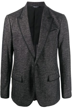 Dolce & Gabbana Hombre Blazers - Woven single-breasted blazer