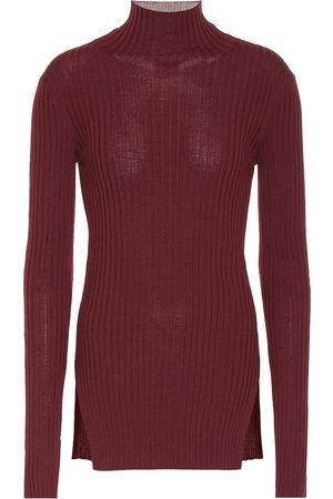 Plan C Jersey de lana de cuello alto