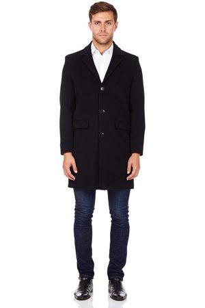 De la creme Abrigo Abrigo de invierno de lana de cachemira para hombre