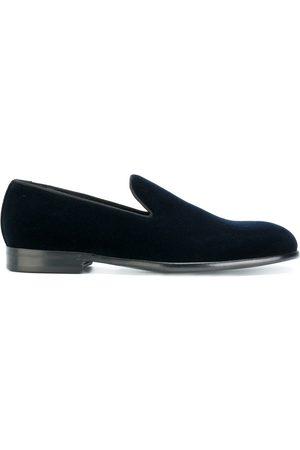 Dolce & Gabbana Zapatos slippers de terciopelo Milan