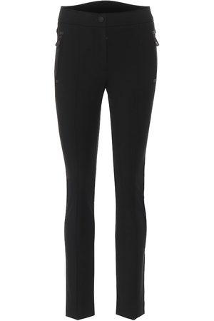 Moncler Mujer Trajes de esquí - Pantalones ajustados de sarga