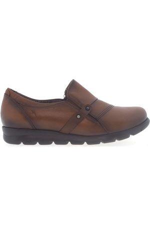 Fluchos Mocasines Zapatos F1079 Cuero para mujer