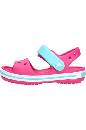 Crocs Sandalias - Crocband sand k fuxia/azzurro 12856-6LH para niña