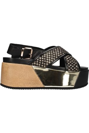 Cult Zapatos - Sandalo nero CLE104340 para mujer