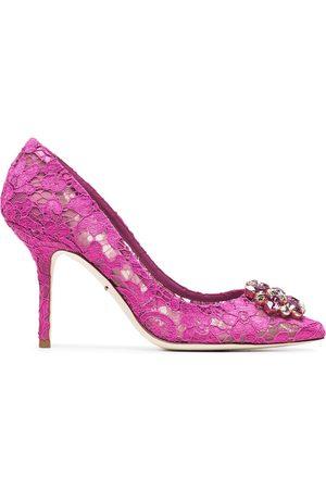 Dolce & Gabbana Zapatos de tacón Belucci 90 de encaje