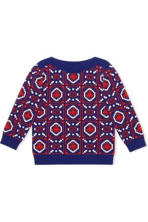 Gucci Jerséis y suéteres - Jersey con motivo GG y abejas