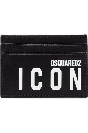 Dsquared2 Tarjetero Icon con logo estampado