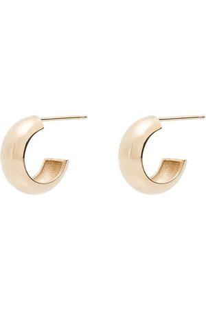BY PARIAH 14K chunky huggie hoop earrings