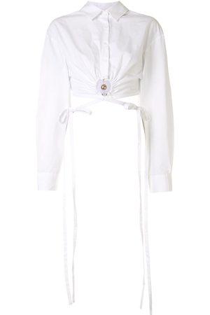 CHRISTOPHER ESBER Mujer Camisas - Camisa corta con aberturas
