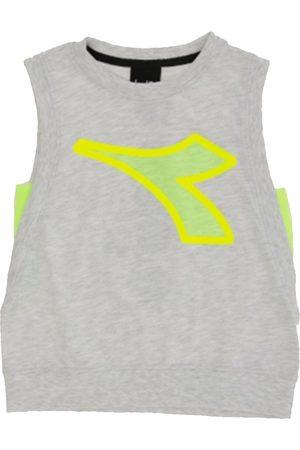 Diadora Camiseta tirantes - T-shirt grigio 022785-107 para niño