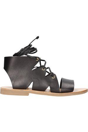 MODA POSITANO Sandalias - Sandalo nero S20/18 para niña