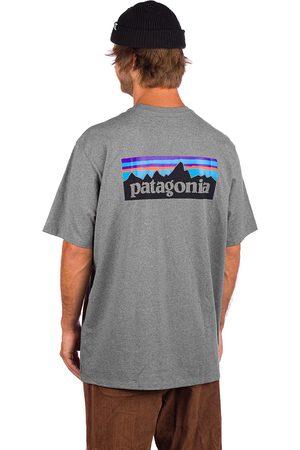 Patagonia P-6 Logo Responsibili T-Shirt gris
