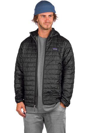 Patagonia Nano Puff Hooded Jacket negro
