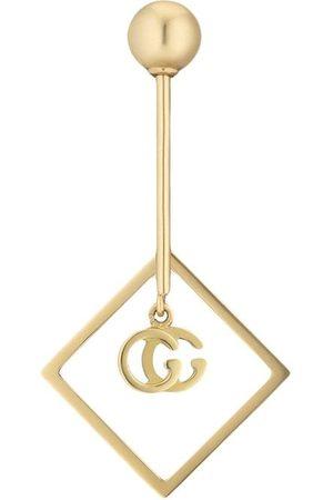 Gucci Pendientes GG Running en oro amarillo de 18kt