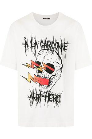 Comme des Garçons Camiseta oversize Caveira