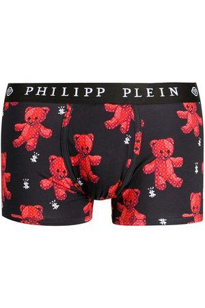 Philipp Plein Calzoncillos con motivo Teddy Bear