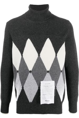 BALLANTYNE Diamond cashmere jumper