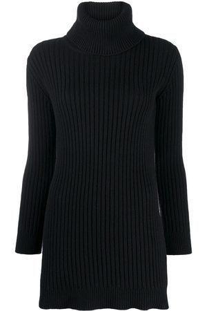 Saint Laurent Ribbed roll-neck jumper