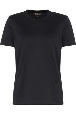 Loro Piana Camiseta Girocollo de algodón