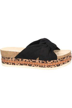 Bullboxer Mujer Sandalias - Sandalias Bull Boxer sandales noire 886030F1T para mujer