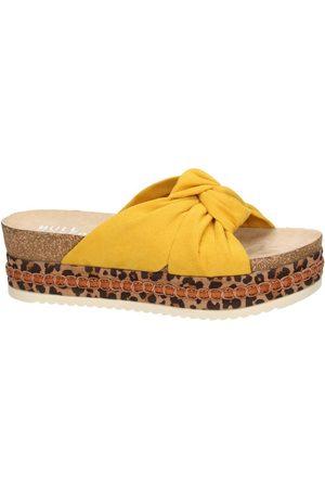 Bullboxer Mujer Sandalias - Sandalias Bull Boxer sandales jaune 886030F1T para mujer